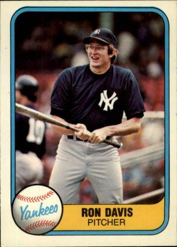 Photo of 1981 Fleer #86 Ron Davis