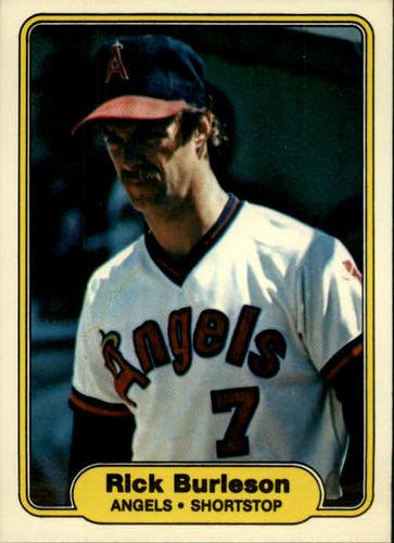 Photo of 1982 Fleer #453 Rick Burleson
