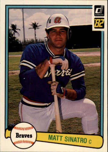 Photo of 1982 Donruss #149 Matt Sinatro
