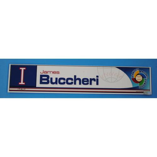 Photo of 2006 Inaugural World Baseball Classic: James Buccheri Locker Tag - ITA