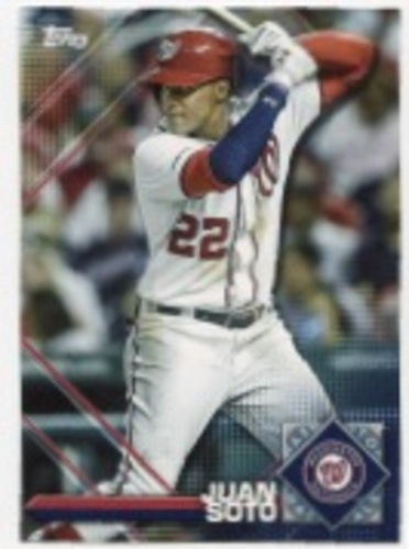 Photo of 2020 Topps Opening Day Sticker Collection Preview #SP7 Juan Soto