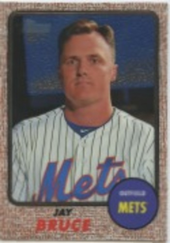 Photo of 2017 Topps Heritage Chrome #THC453 Jay Bruce