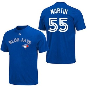 Toronto Blue Jays Youth Russell Martin Player T-Shirt by Majestic