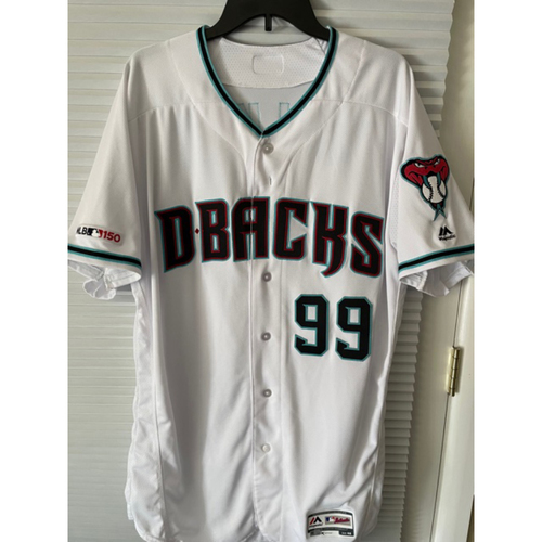 Photo of Taijuan Walker 2019 Team-Issued Home Alternate Jersey (Size 48)