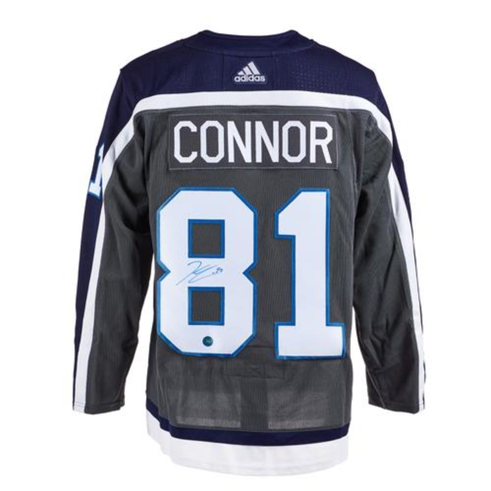 Kyle Connor Winnipeg Jets Signed Reverse Retro Adidas Jersey