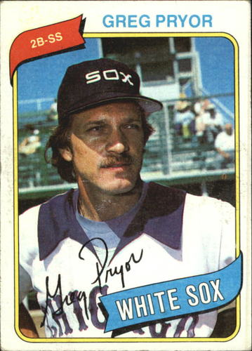 Photo of 1980 Topps #164 Greg Pryor