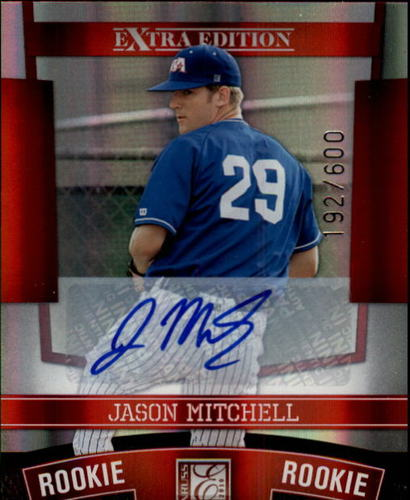 Photo of 2010 Donruss Elite Extra Edition #151 Jason Mitchell AU/600