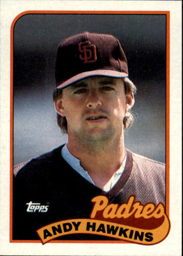 Photo of 1989 Topps #533 Andy Hawkins