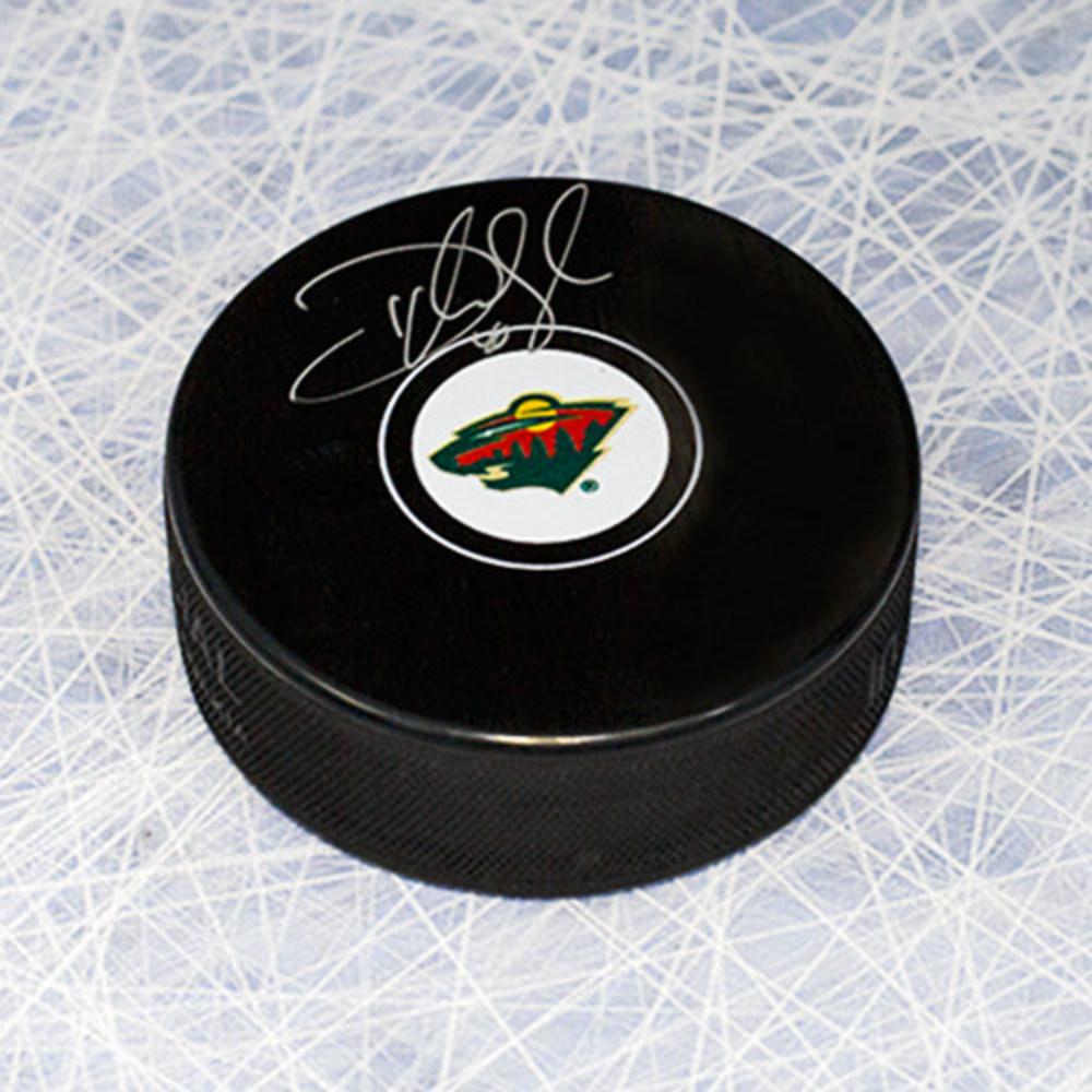 Devan Dubnyk Minnesota Wild Autographed Hockey Puck