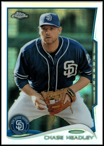 Photo of 2014 Topps Chrome Refractors #53 Chase Headley
