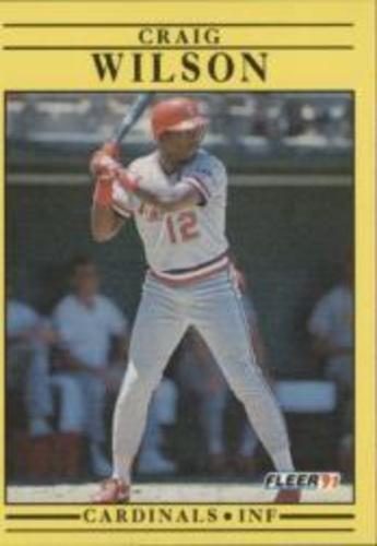 Photo of 1991 Fleer #652 Craig Wilson RC