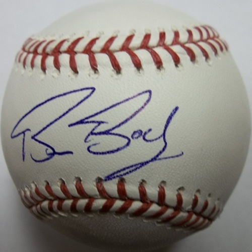 Photo of Bruce Bochy Autographed Baseball