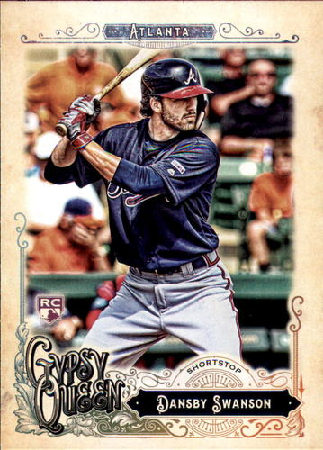 Photo of 2017 Topps Gypsy Queen #91A Dansby Swanson Rookie Card