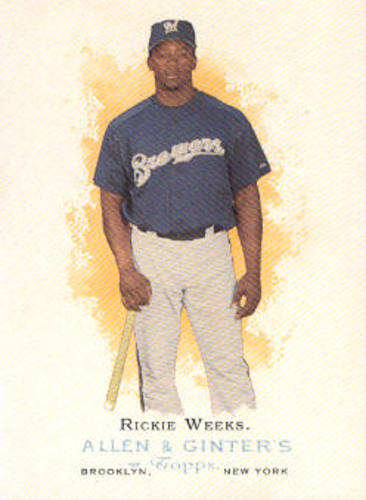 Photo of 2006 Topps Allen and Ginter #68 Rickie Weeks