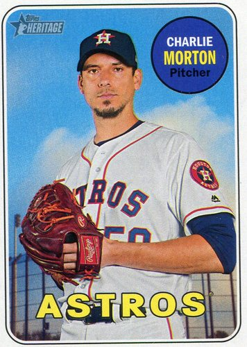 Photo of 2018 Topps Heritage #309 Charlie Morton