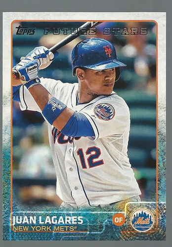 Photo of 2015 Topps #306 Juan Lagares FS