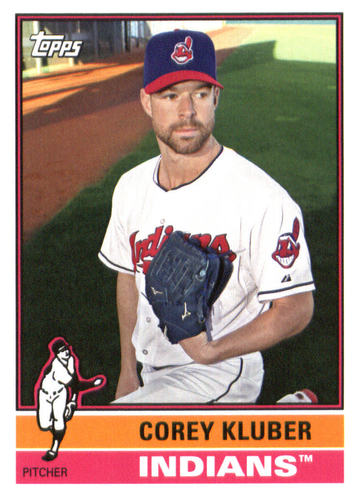 Photo of 2015 Topps Archives #196 Corey Kluber