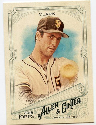 Photo of 2018 Topps Allen and Ginter #316 Will Clark SP