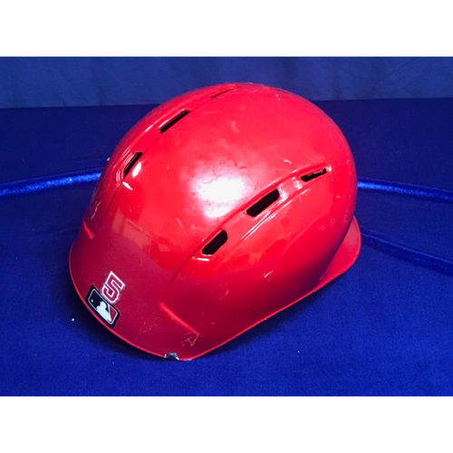 Photo of Albert Pujols Game Used 631st Home Run Helmet