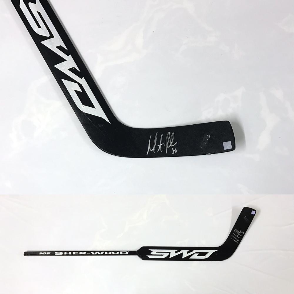 MARTIN BRODEUR Signed Sher-Wood Stick - New Jersey Devils