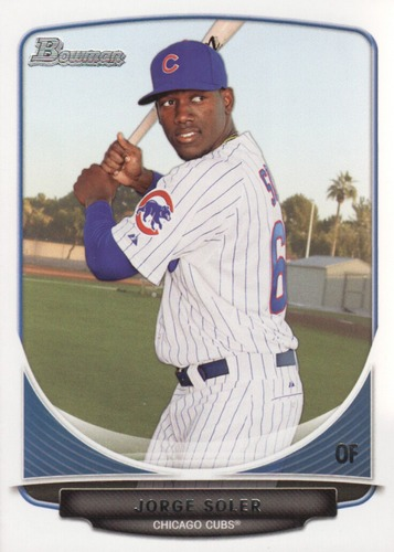 Photo of 2013 Bowman Draft Top Prospects #TP9 Jorge Soler Pre-Rookie Card