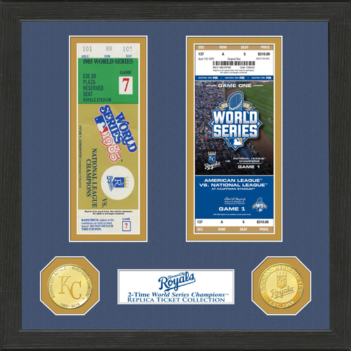 Photo of Kansas City Royals World Series Ticket Collection