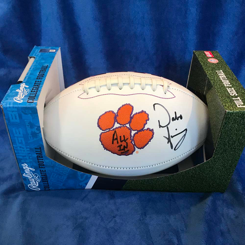 Photo of UMPS CARE AUCTION: Dabo Swinney Signed Clemson Tigers Football