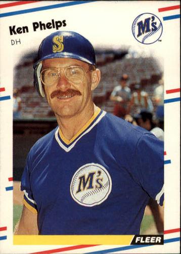 Photo of 1988 Fleer #384 Ken Phelps