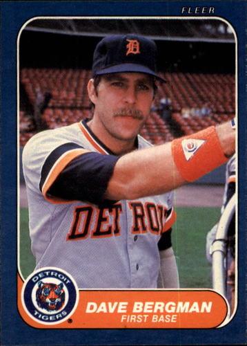 Photo of 1986 Fleer #222 Dave Bergman