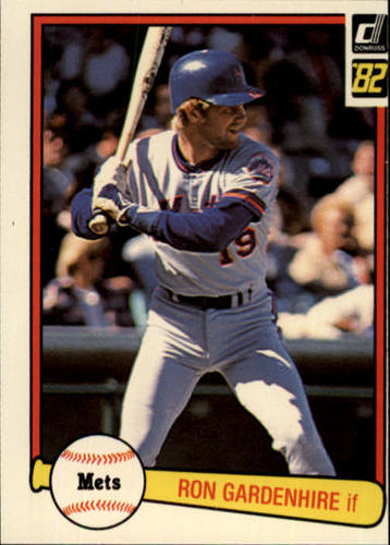 Photo of 1982 Donruss #649 Ron Gardenhire RC