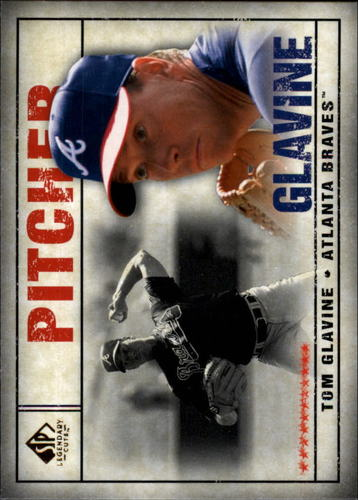 Photo of 2008 SP Legendary Cuts #14 Tom Glavine