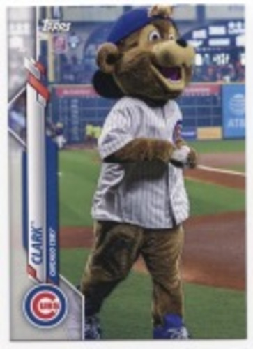Photo of 2020 Topps Opening Day Mascots #M1 Clark