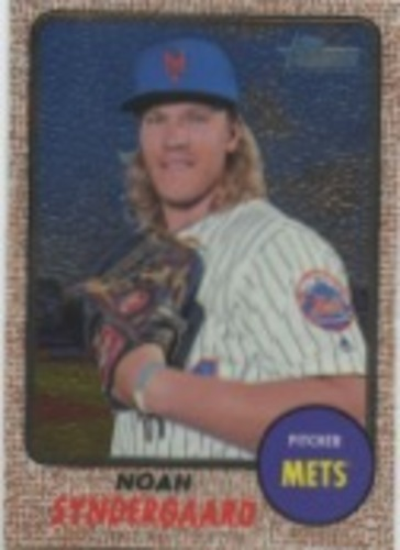 Photo of 2017 Topps Heritage Chrome #THC470 Noah Syndergaard