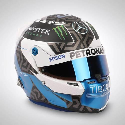 Photo of Valtteri Bottas 2019 1:1 Replica Helmet