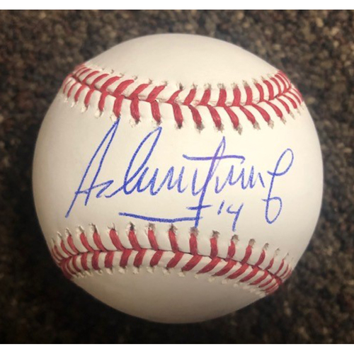 Photo of Asdrúbal Cabrera Autographed Baseball