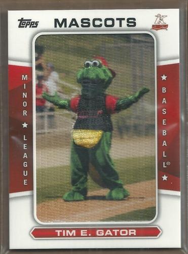 Photo of 2013 Topps Pro Debut Mascots #TEG Tim E. Gator