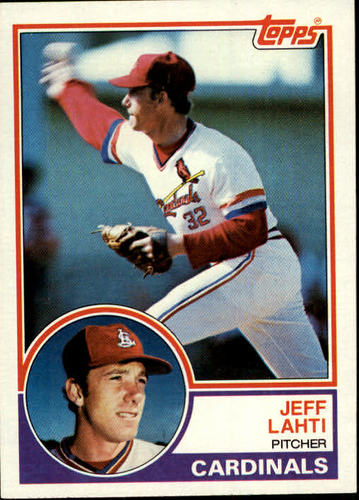 Photo of 1983 Topps #284 Jeff Lahti
