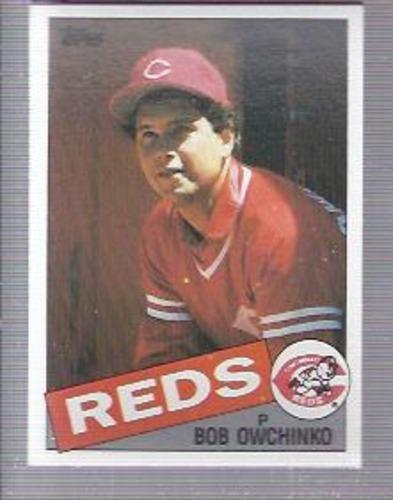 Photo of 1985 Topps #752 Bob Owchinko