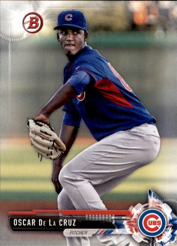 Photo of 2017 Bowman Prospects #BP72 Oscar De La Cruz