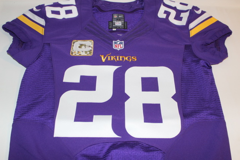 huge selection of 8a41a a5243 NFL Auction | STS - VIKINGS ADRIAN PETERSON GAME ISSUED ...