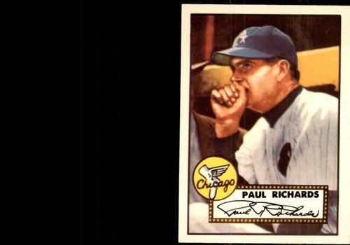 Photo of 1983 Topps 1952 Reprint #305 Paul Richards MG