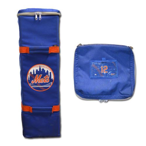 Juan Lagares #12 - New York Mets Bat Bag - 2017 Season