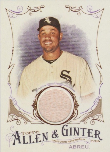 Photo of 2016 Topps Allen and Ginter Relics #FSRAJA Jose Abreu -- 2018 All-Star