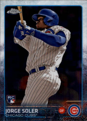 Photo of 2015 Topps Chrome #154A Jorge Soler RC