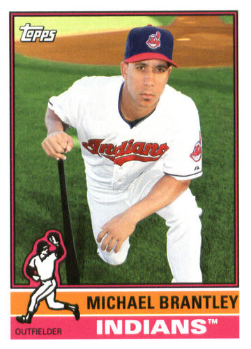 Photo of 2015 Topps Archives #198 Michael Brantley