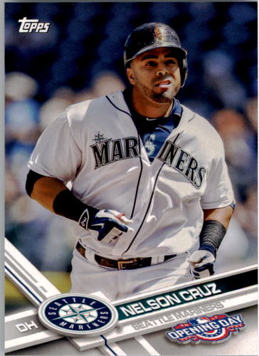 Photo of 2017 Topps Opening Day #27 Nelson Cruz