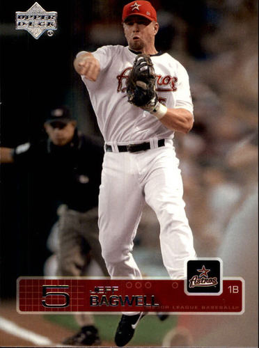 Photo of 2003 Upper Deck #134 Jeff Bagwell