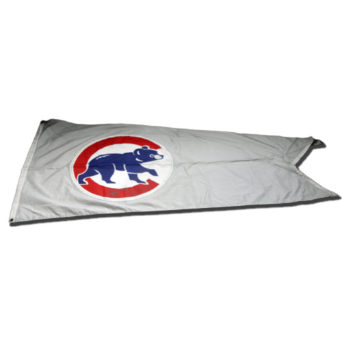 Photo of Wrigley Field Collection -- Cubs Rooftop Flag -- Flown during 2018 Season -- Cubs Walking Bear Logo