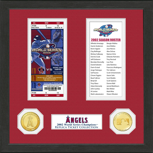 Photo of Los Angeles Angels World Series Ticket Collection