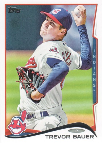 Photo of 2014 Topps #539 Trevor Bauer